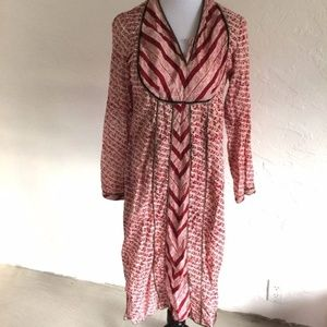VINTAGE TUNIC TOP SIZE 36